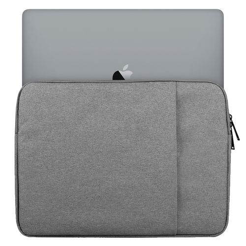 "Universal Slim Carry Sleeve Bag Case for 15"" Laptop / Tablet - Grey"